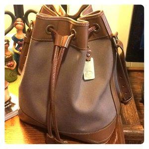 Authentic Dooney and Bourke bucket bag